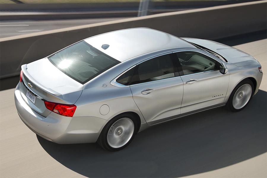 2020 Chevrolet Impala on the Road