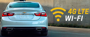 2016 Chevrolet Malibu 4G LTE Wi-Fi
