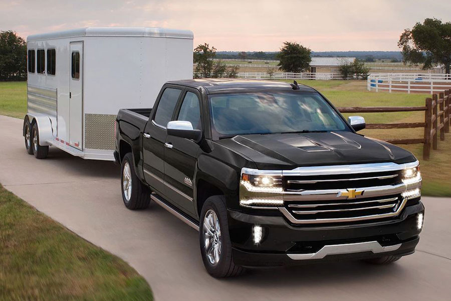 2018 Chevrolet SIlverado 1500 Towing