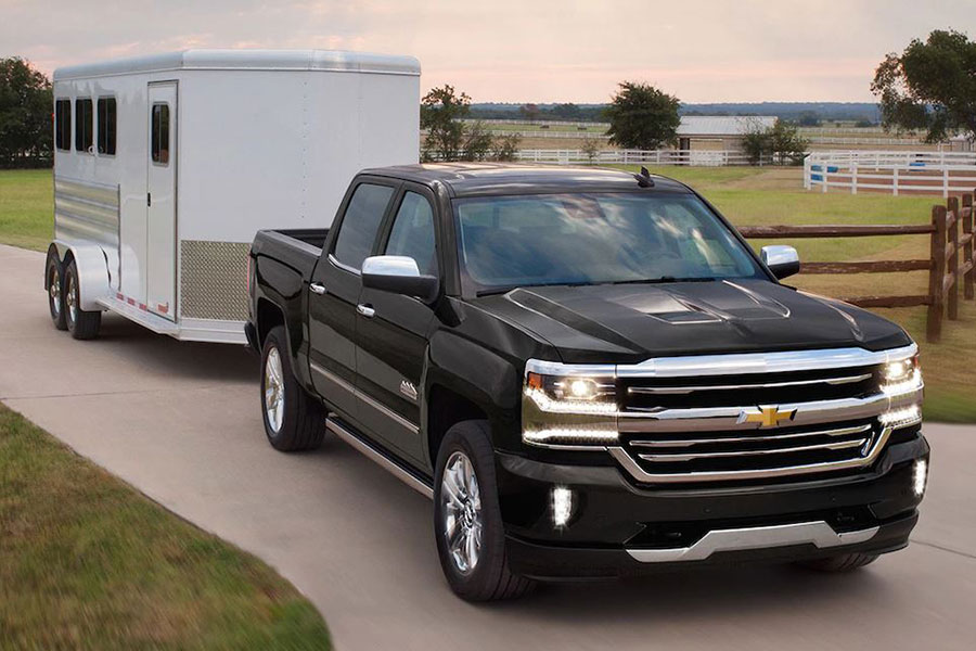 2019 Chevrolet Silverado 1500 Towing