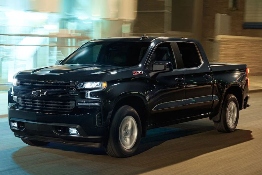 2019 Chevrolet 1500 on the Road