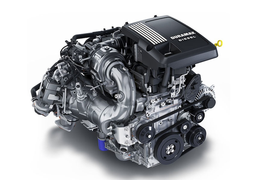 2020 Chevrolet Silverado 1500 Engine