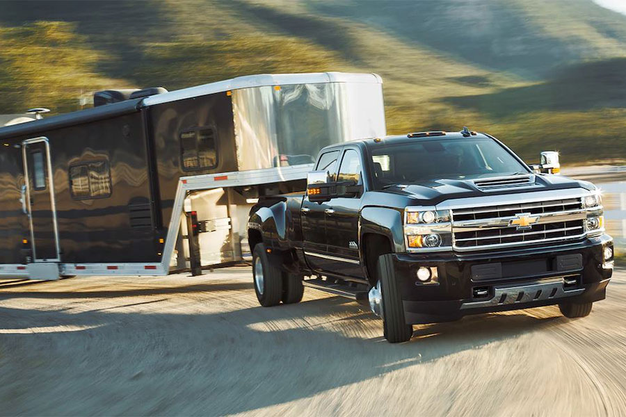 2019 Chevrolet Silverado 2500 HD Towing