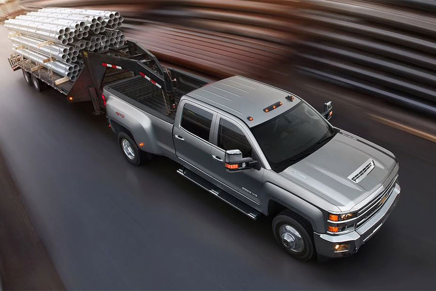 2019 Chevrolet Silverado 2500 HD on the Road