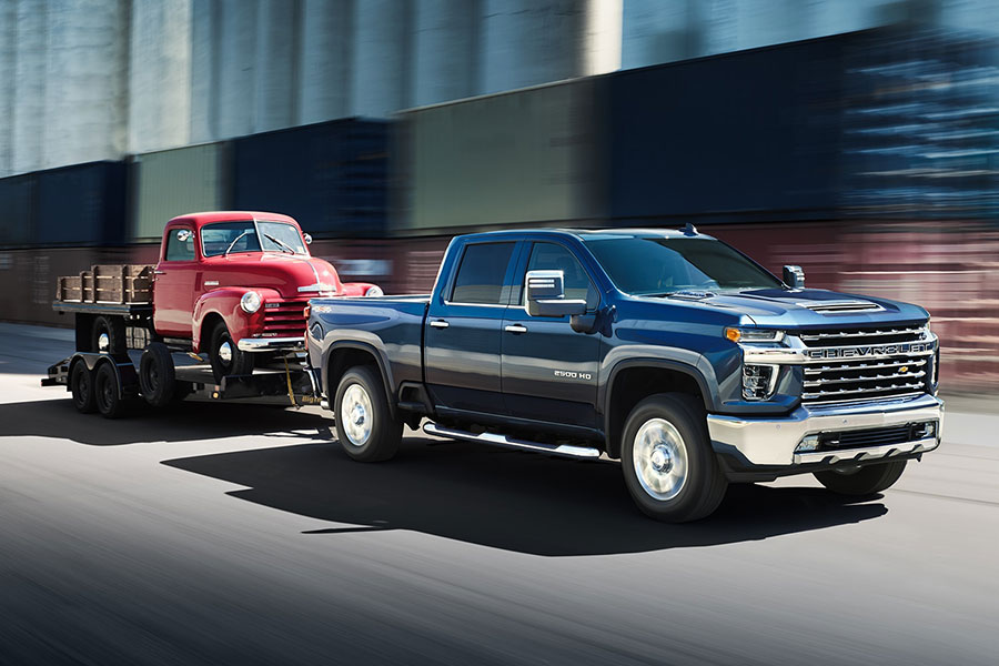 2020 Chevrolet Silverado 2500HD Towing