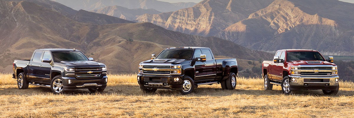 Used Chevy Silverado Trucks