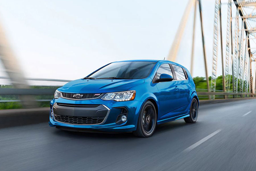 2019 Chevrolet Sonic on the Road