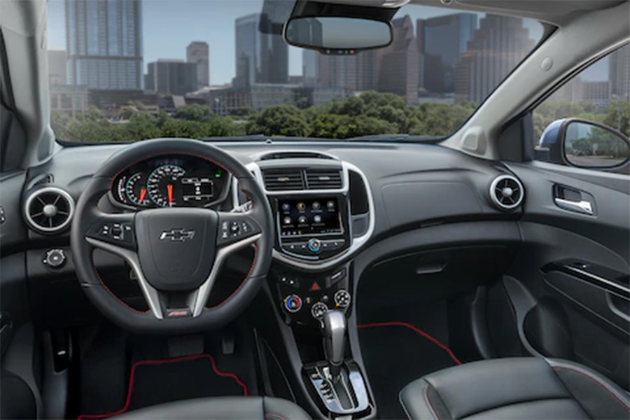 2020 Chevrolet Sonic Interior