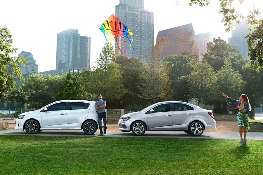 2020 Chevrolet Sonic Sedan and Hatchback