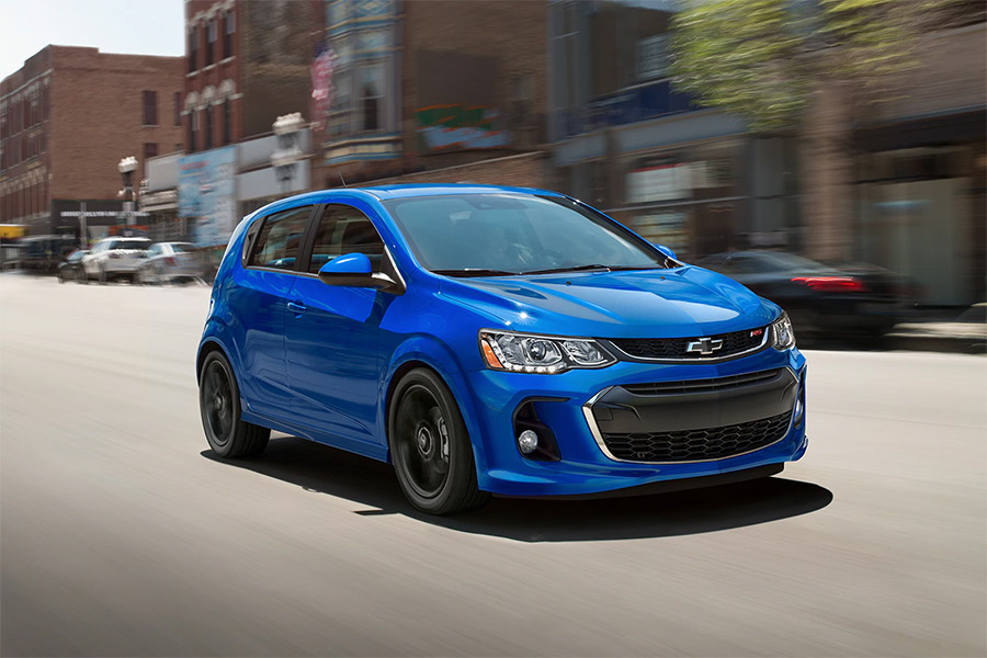2020 Chevrolet Sonic on the Road