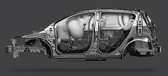 2016 Chevrolet Sonic Sedan 10 Standard Airbags