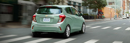 2017 Chevrolet Spark Fuel-Efficient Performance