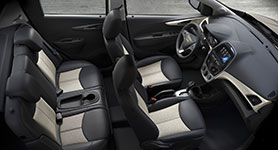 2017 Chevrolet Spark Plush Passenger Accommodations