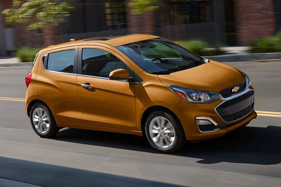 2020 Chevrolet Spark on the Road