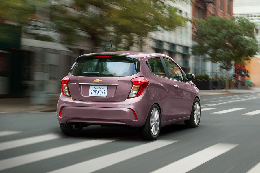 2021 Chevrolet Spark on the Road