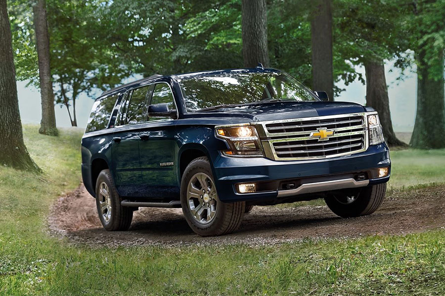 2020 Chevrolet Suburban off the Road