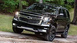 2017 Chevrolet Tahoe Off-Road Prowess