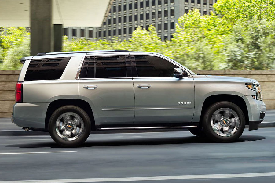 2019 Chevrolet Tahoe on the Road