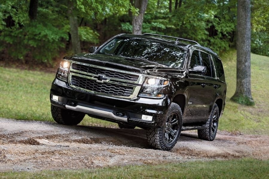 2020 Chevrolet Tahoe Off-Roading
