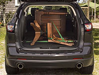 Used 2015 Chevrolet Traverse Best-in-Class Maximum Cargo Space