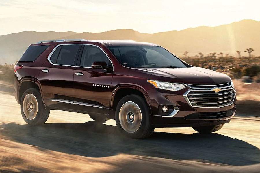 2018 Chevrolet Traverse On the Road
