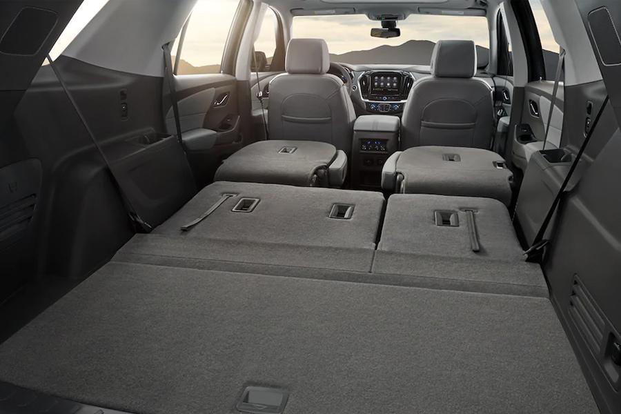 2021 Chevrolet Traverse Interior Seats Down
