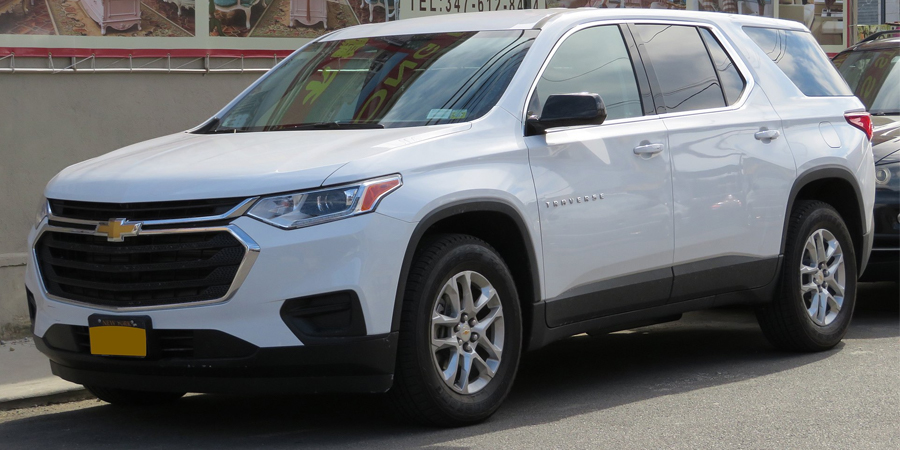 Used Chevrolet Traverse Second Generation