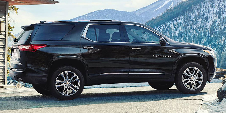 Used Chevrolet Traverse Gen 2