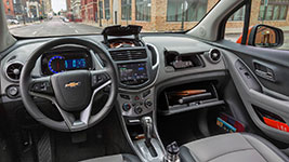 Used 2016 Chevrolet Trax Modern, Spacious Cabin
