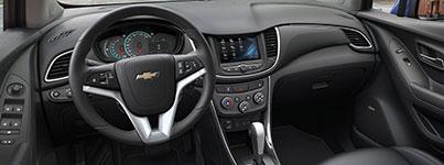 2017 Chevrolet Trax Upscale Cabin