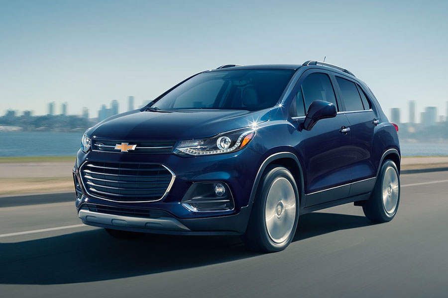 2019 Chevrolet Trax on the Road