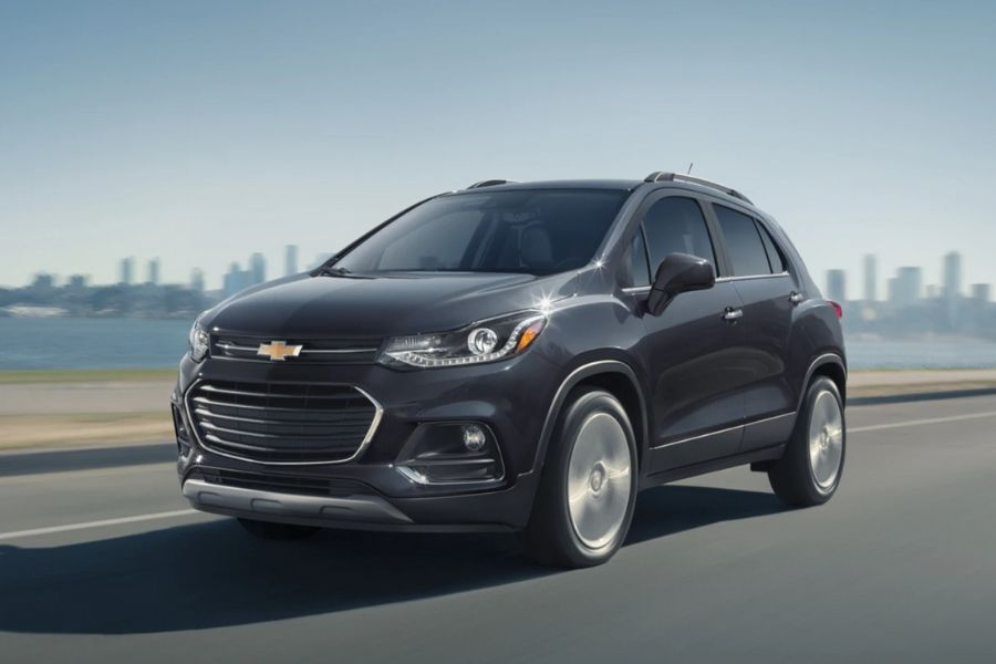 2020 Chevrolet Trax on the Road