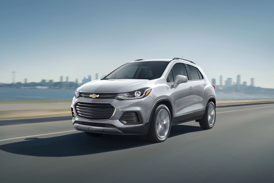 2021 Chevrolet Trax on the Road