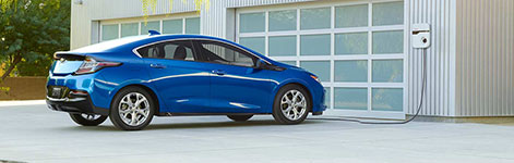 2017 Chevrolet Volt Location-Based Charging