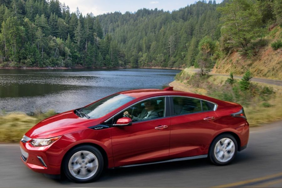 2019 Chevrolet Volt on the Road