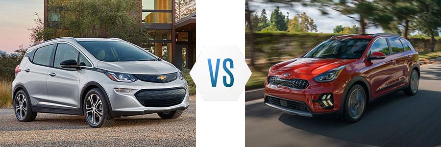 2020 Chevrolet Bolt vs Kia Niro