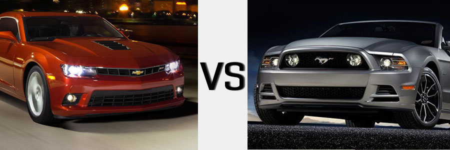2014 Camaro vs Ford Mustang