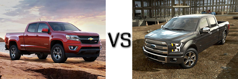2015 Colorado Vs Ford F 150 Burlington Chevrolet