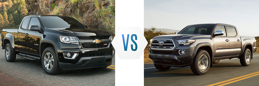 2018 Chevrolet Colorado Vs Toyota Tacoma Burlington Chevrolet