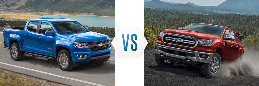 2019 Chevrolet Colorado vs Ford Ranger