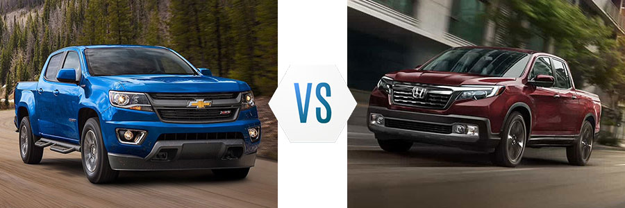 2020 Chevrolet Colorado vs Honda Ridgeline
