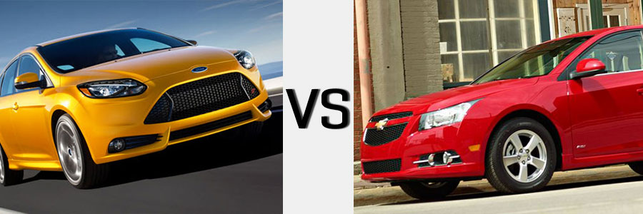2014 Cruze vs Ford Focus