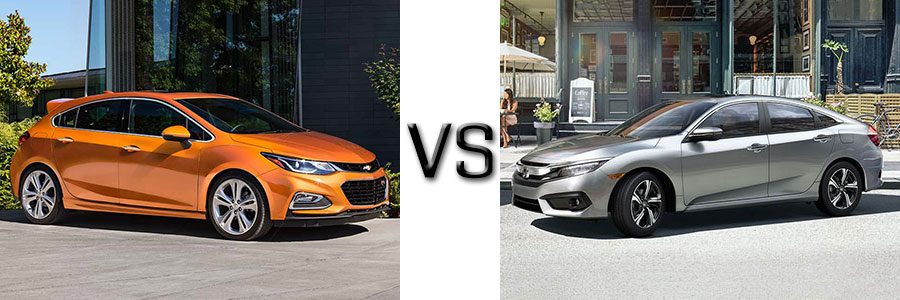 2017 Chevrolet Cruze vs Ford Focus