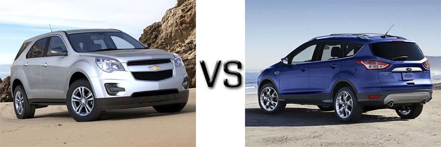 Ford Escape Vs Chevy Equinox >> Chevy Equinox Vs Ford Escape Comparison