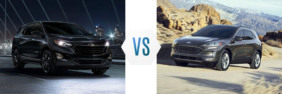 2020 Chevrolet Equinox vs Ford Escape