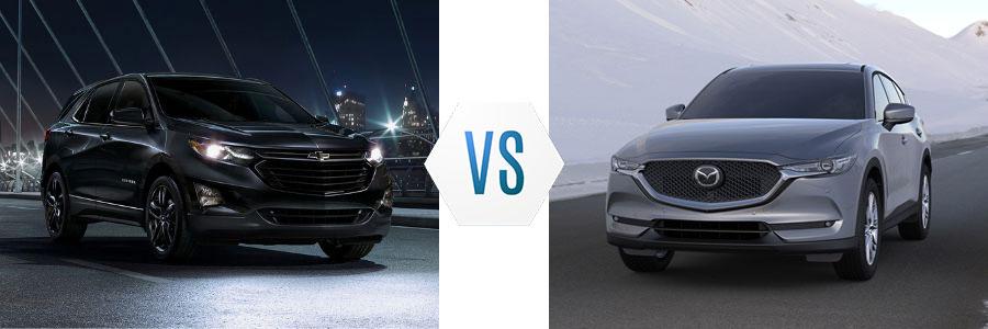 2020 Chevrolet Equinox vs Mazda CX-5