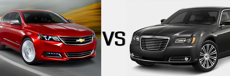 2014 Impala vs Chrysler 300