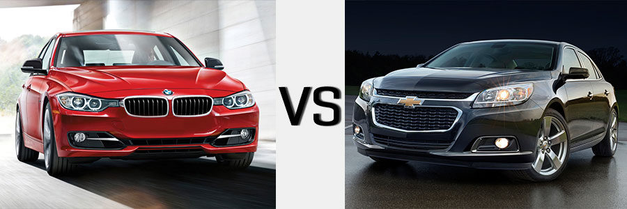 2014 Malibu vs BMW 3-Series