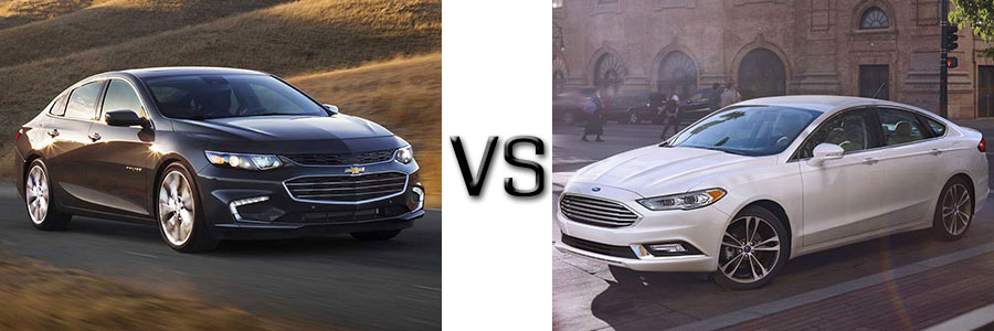 2017 Chevrolet Malibu vs. Ford Fusion