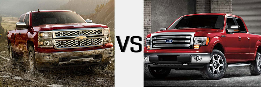 Ford Vs Chevy For Truck Burlington Chevrolet
